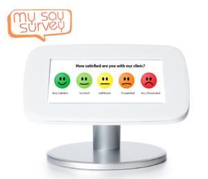Patient satisfaction level surveys