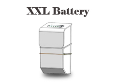 Extra long-life battery - XXL series