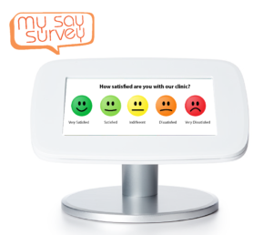 Patient satisfaction level surveys
